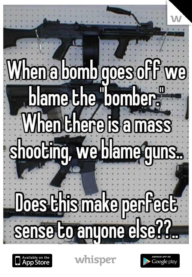 Does this make sense to anyone?