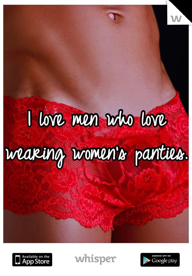 Men Who Love Wearing Panties 71