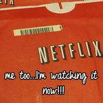me too...I'm watching it now!!!