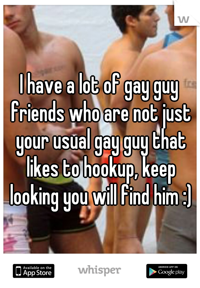 Hookup A Guy With No Friends