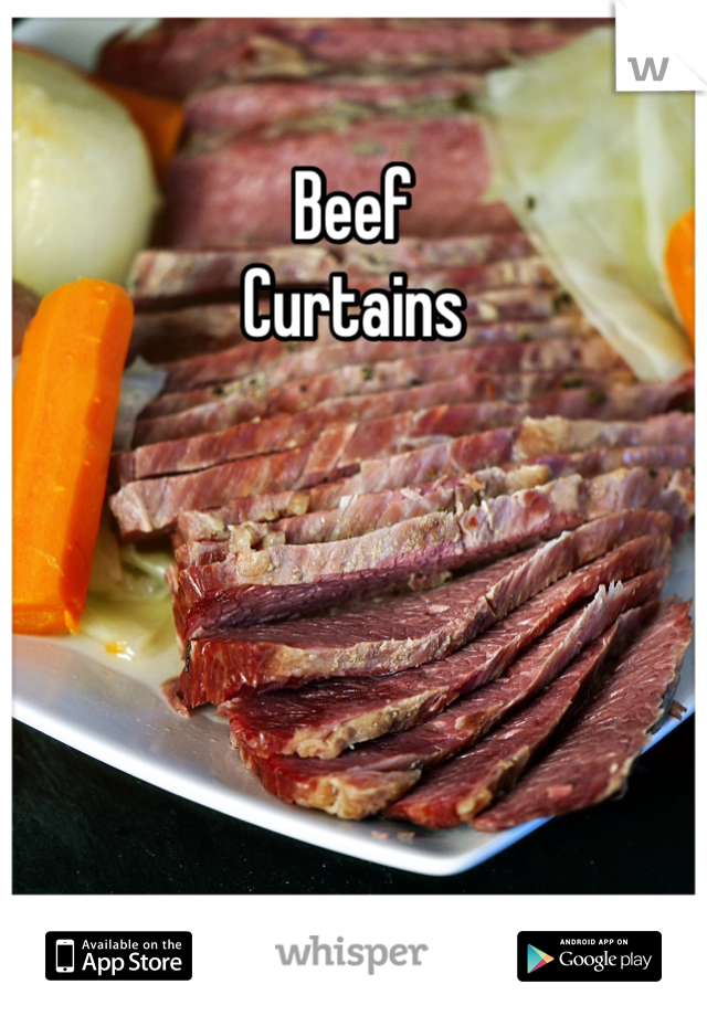 Beef Curtains. From: Mount View