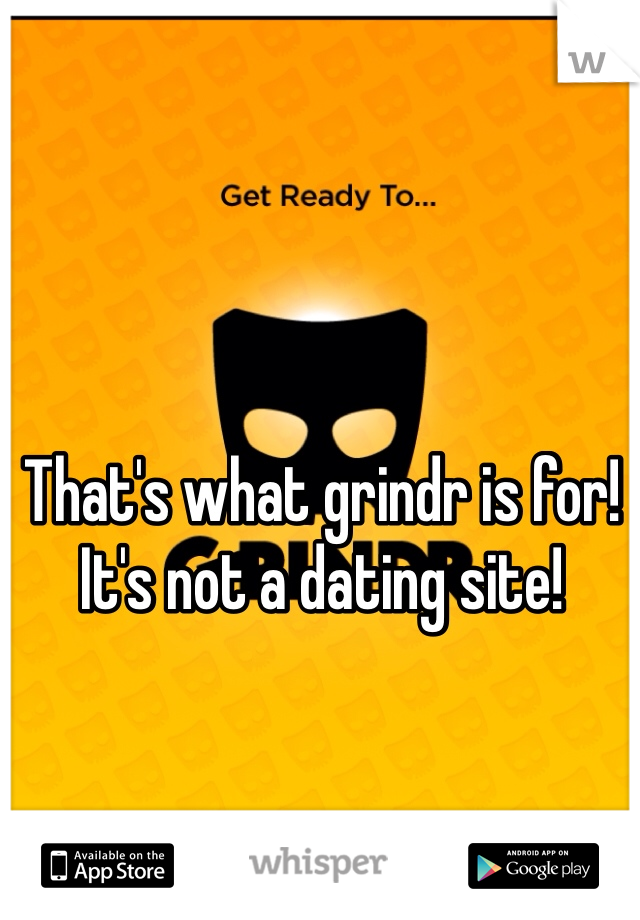 Grindr not in app store