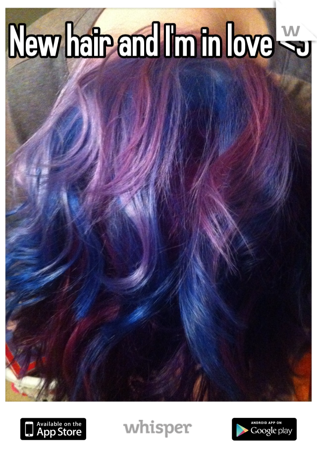 New hair and I'm in love <3