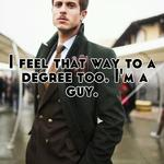 I feel that way to a degree too. I'm a guy.