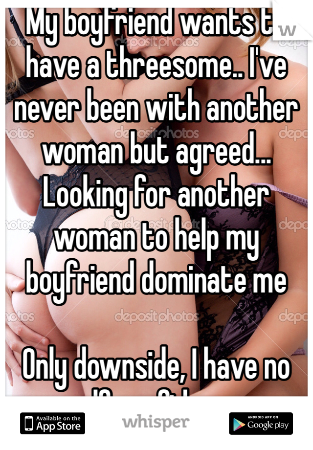 Boyfriend dating another woman