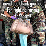I'm very sorry about your friend but thank you both for fighting for my freedom!!
