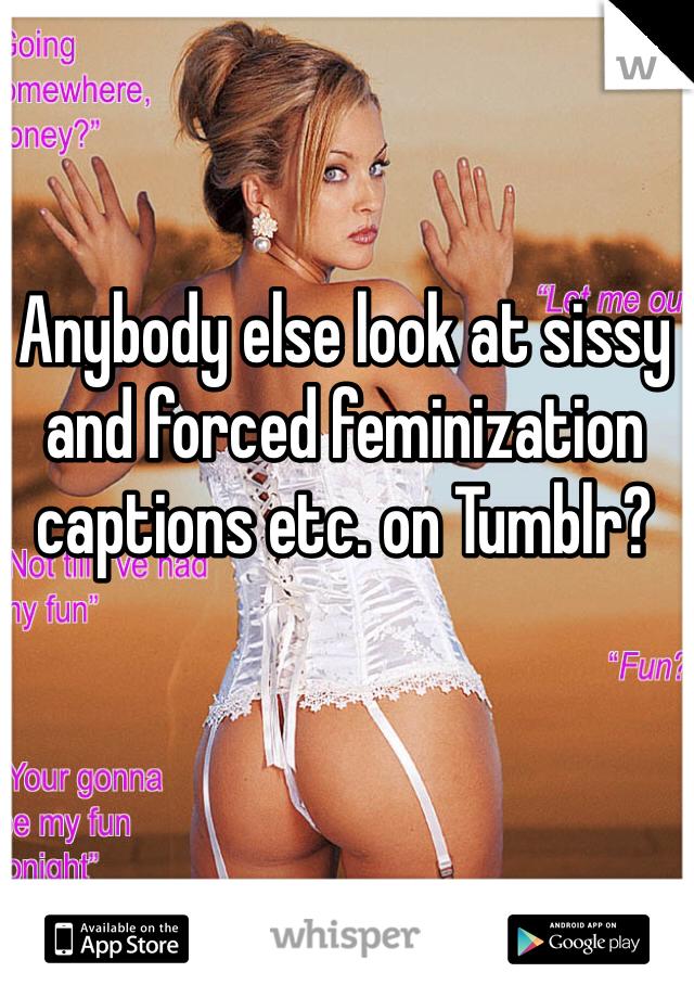 Feminization Caption Pics 5