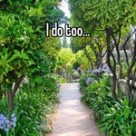 I do too...
