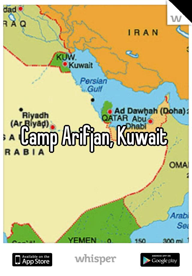 Map Of Camp Arifjan Kuwait Camp Arifjan, Kuwait