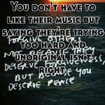 You don't have to like their music but saying they're trying too hard and unoriginal isn't right.