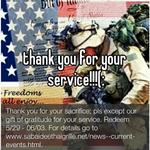 thank you for your service!!!(: