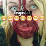 Disgusting  😷😷😷😷😷😷😷