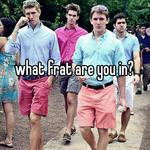 what frat are you in?