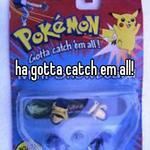 ha gotta catch em all!