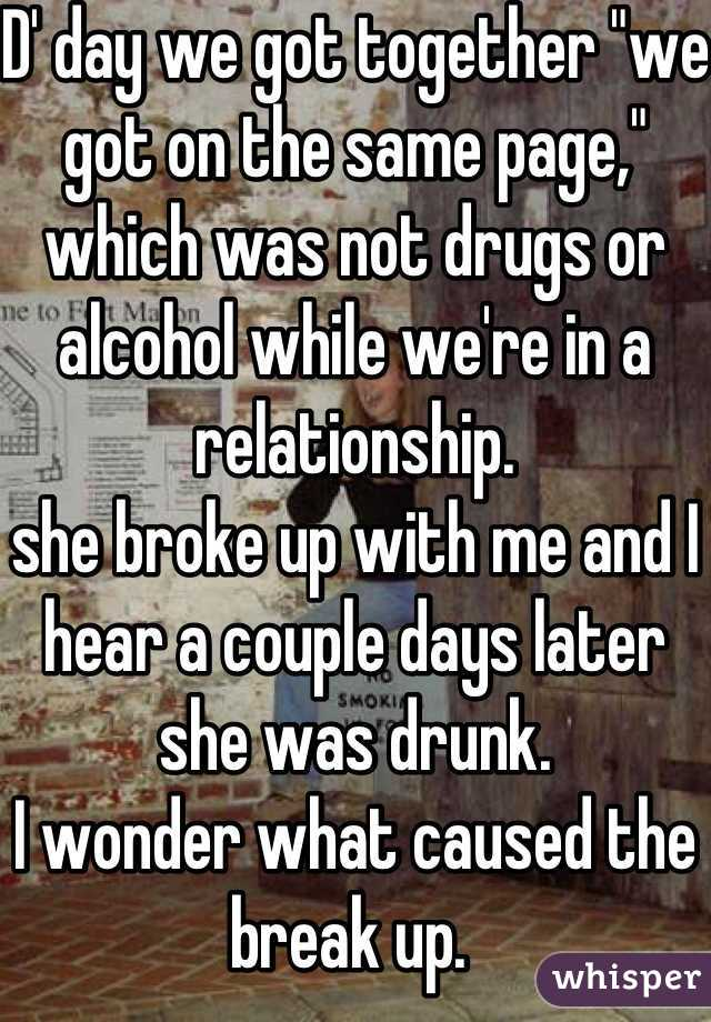 Break Up with Alcohol!