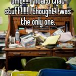 Omg!!!!! I hoard that stuff!!!!! I thought I was the only one.
