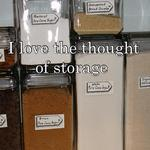 I love the thought of storage