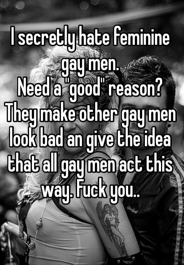 from Chris hate gay people