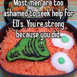 Most men are too ashamed to seek help for ED's. You're strong because you did.