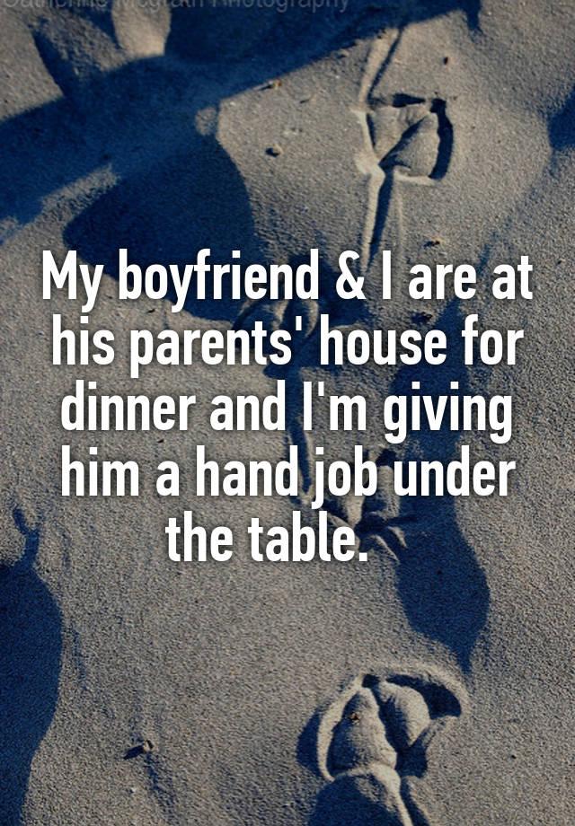 Hand job table