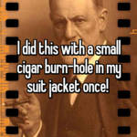 I did this with a small cigar burn-hole in my suit jacket once!