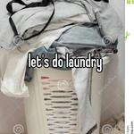 let's do laundry