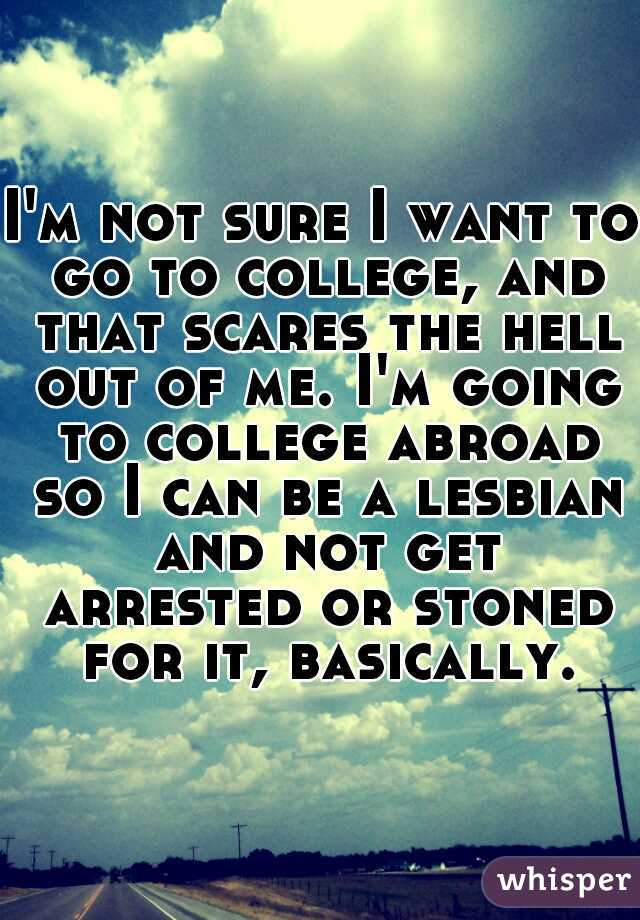 Not sure what to go to college for?