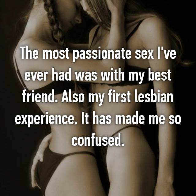 First time lesbian sex experience