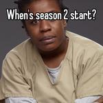 When's season 2 start?