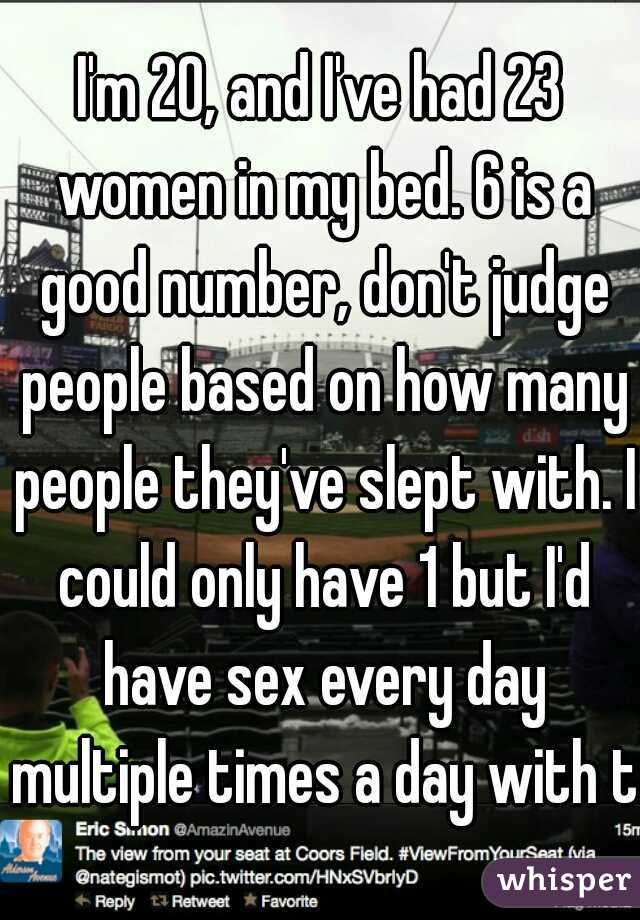 Have sex multiple times