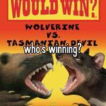 who's winning?
