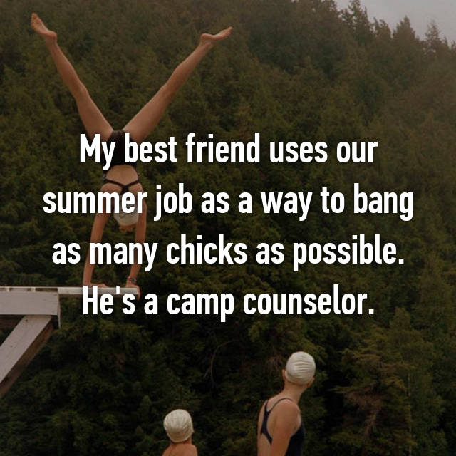 10 Reasons You Should Date A Camp Counselor