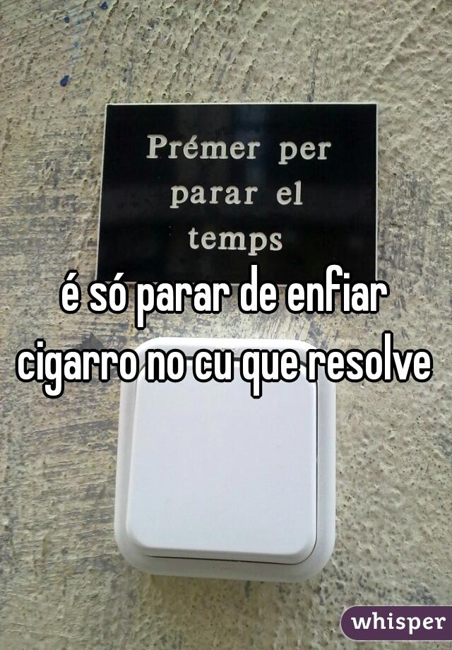 Porque fumar da vontade de defecar