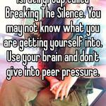 Please take a look at an Israeli group called Breaking The Silence. You may not know what you are getting yourself into. Use your brain and don't give into peer pressure.