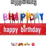 Happy birthday        🎉🎁🎊🎈