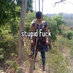 stupid fuck
