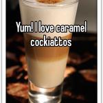 Yum! I love caramel cockiattos