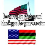 I'm sorry. be strong and thank you for your service.