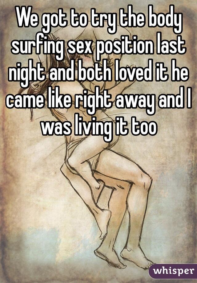 Puppet master sex position