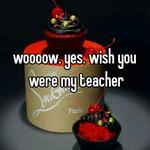 woooow. yes. wish you were my teacher