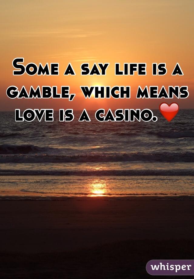 Life is a casino green valley ranch resort casino