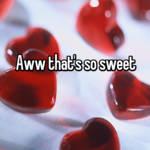 Aww that's so sweet