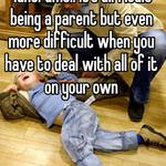 Tantrums.. It's difficult being a parent but even more difficult when you have to deal with all of it on your own