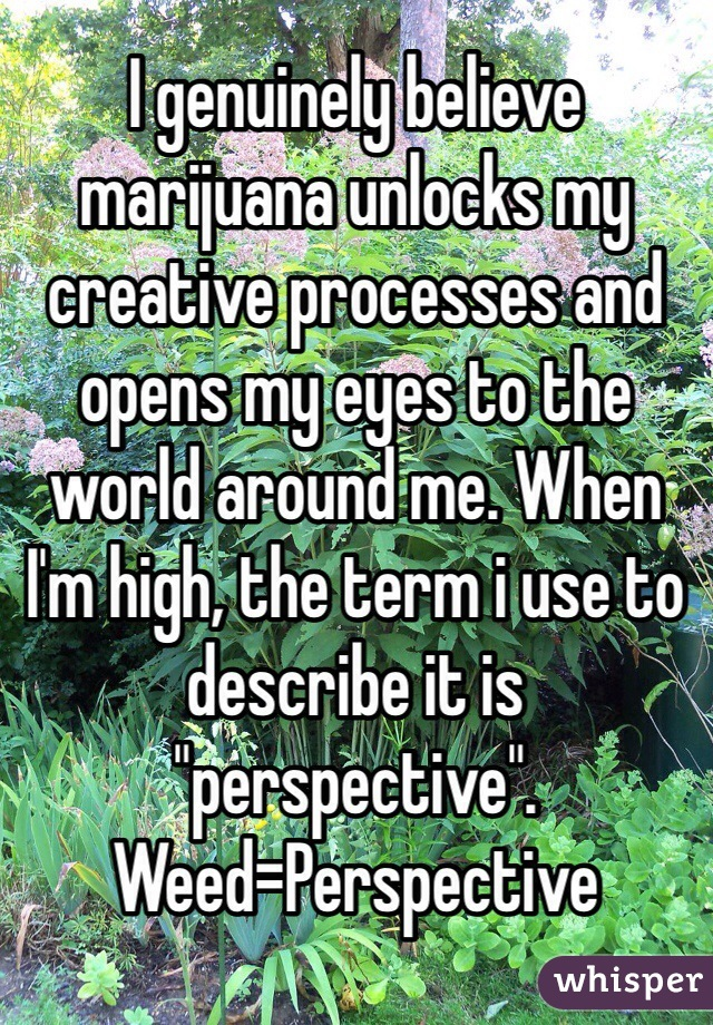0501dff622d12736496772912ae87662028962 wm People Tell All About Weed And Creativity