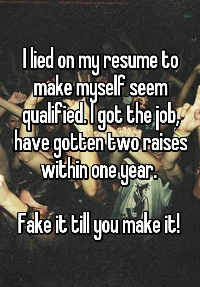 malaysian employee resume donovan ho workopolis i lied on my resume to get out of the - Fake Resume Lying On Resume Consequences