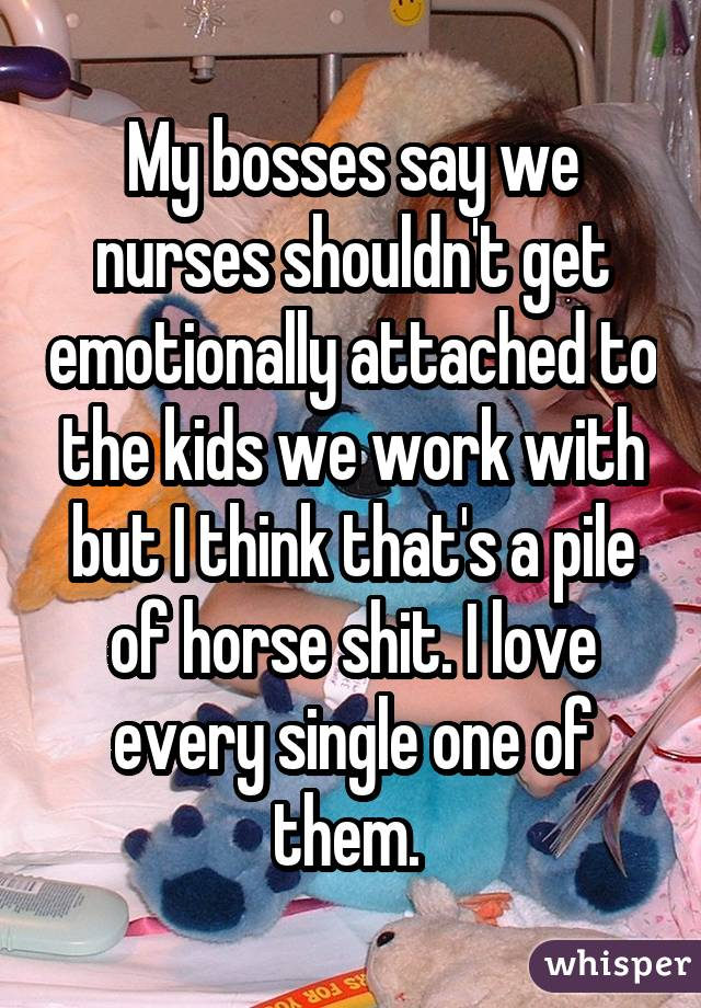 My bosses say we nurses shouldn