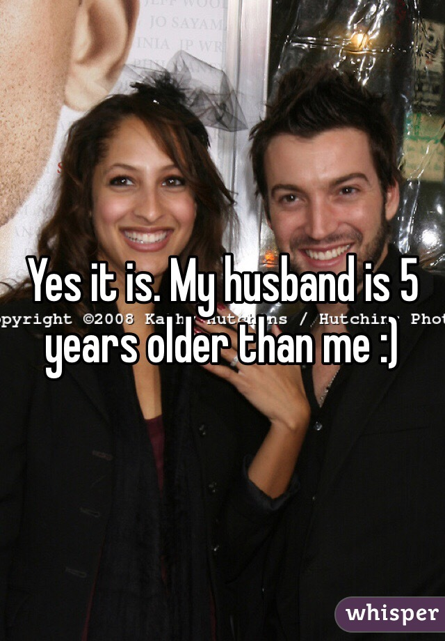 Dating a man 3 years older