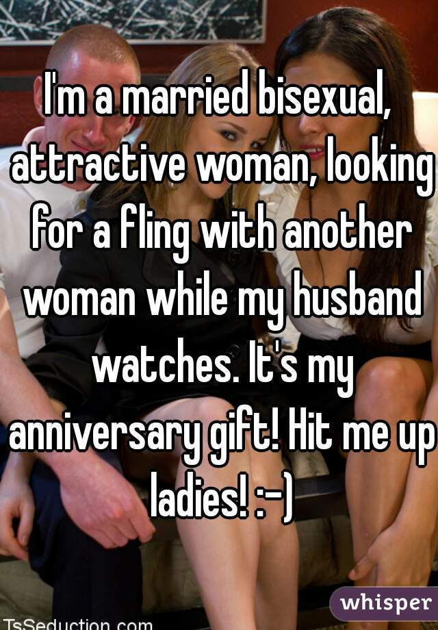 Bisexual married woman