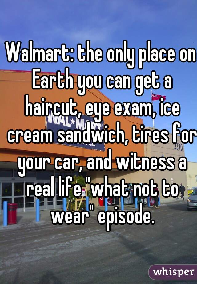 haircut places in walmart walmart the only place on earth you can get a haircut 3268