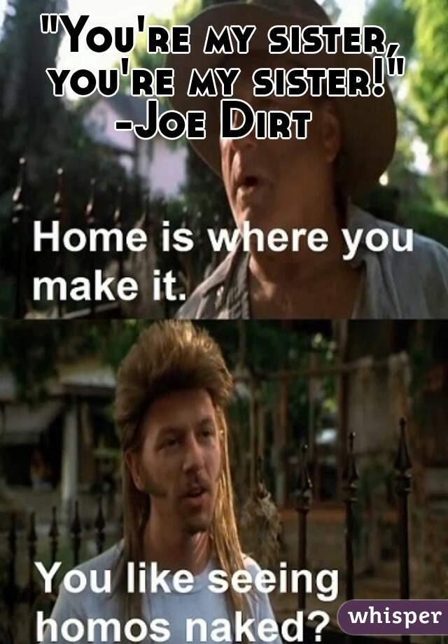 Joe Dirt Sister